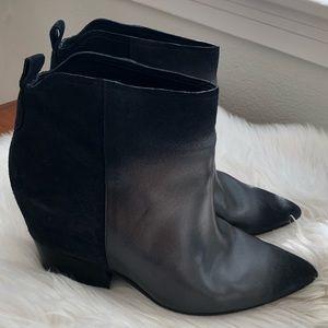 Sigerson Morrison Nero Saturno Suede Boots